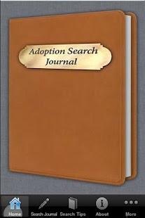 Adoption Search Journal- screenshot thumbnail