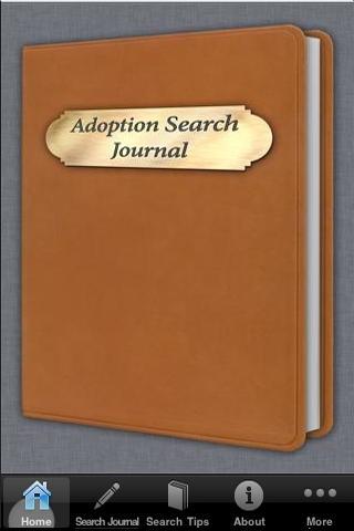 Adoption Search Journal- screenshot