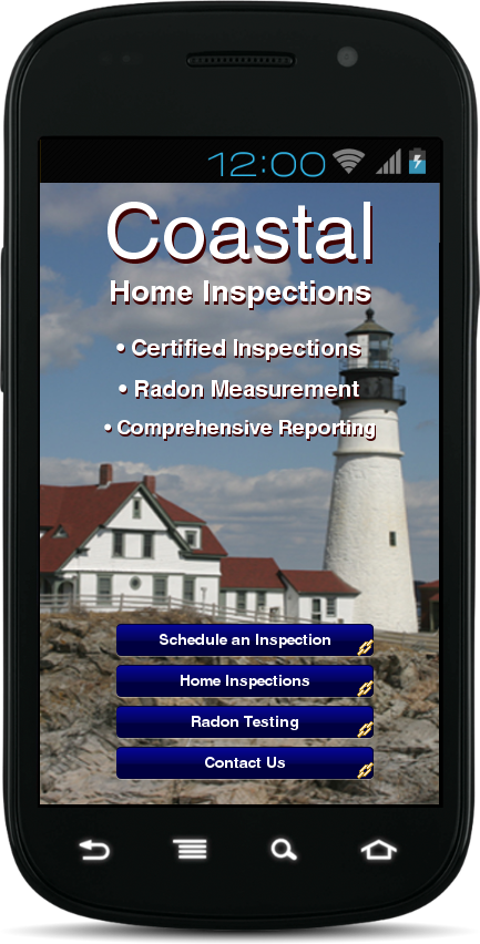 Coastal Home Inspections- screenshot