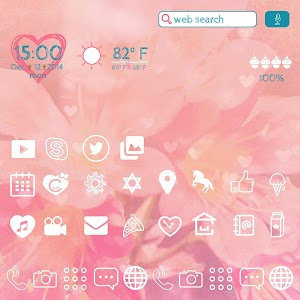 Cute home ♡ CocoPPa Launcher v1.1.11.2