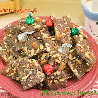 Milk Chocolate Almond Bark!.