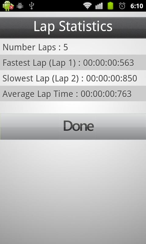 Stopwatch and Trainer- screenshot