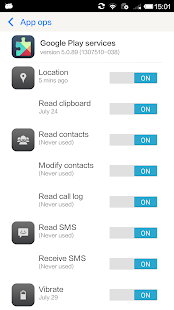 Permission Manager - App ops - screenshot thumbnail