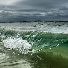 -SHATTER- by Cameron Watts - Landscapes Waterscapes ( canon, clouds, water, sand, waterscape, crisp, ocean, beauty, seascape, beach, landscape, storm, clear, sky, nature, wave, glass, clarity, surf, light, natural,  )