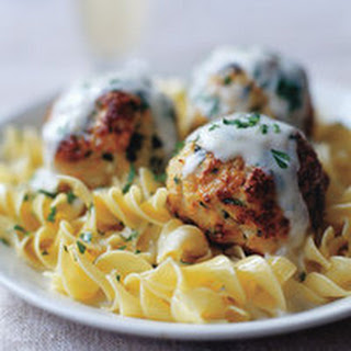 Super-Size Turkey Meatballs with Spinach and Cheese Recipe