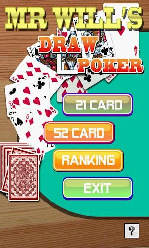 無料纸牌AppのMr.ウィルのドローポーカー|記事Game