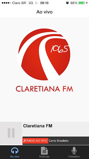 Claretiana FM - Rio Claro