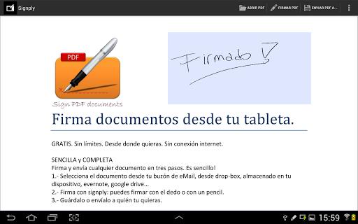 SIGNply: Firma manuscrita PDFs