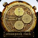 スチームパンク目覚まし時計ウィジェット3 icon