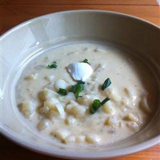 Potato Soup a la Inge