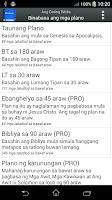 Screenshot of Bibliya sa Tagalog