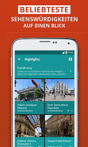 Screenshot 2 Mailand Reiseführer