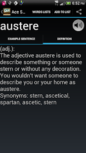 SAT Vocabulary - screenshot thumbnail