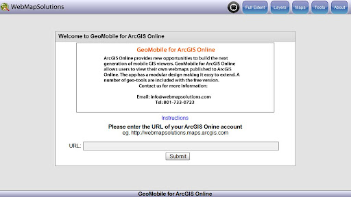 GeoMobile for ArcGIS Online