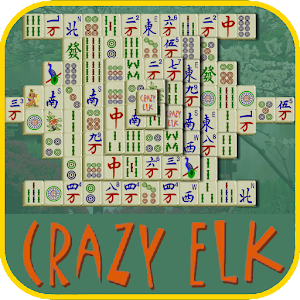 Mahjong Solitaire Crazy Elk for PC and MAC