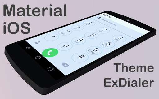 Material IO Theme to ExDialer