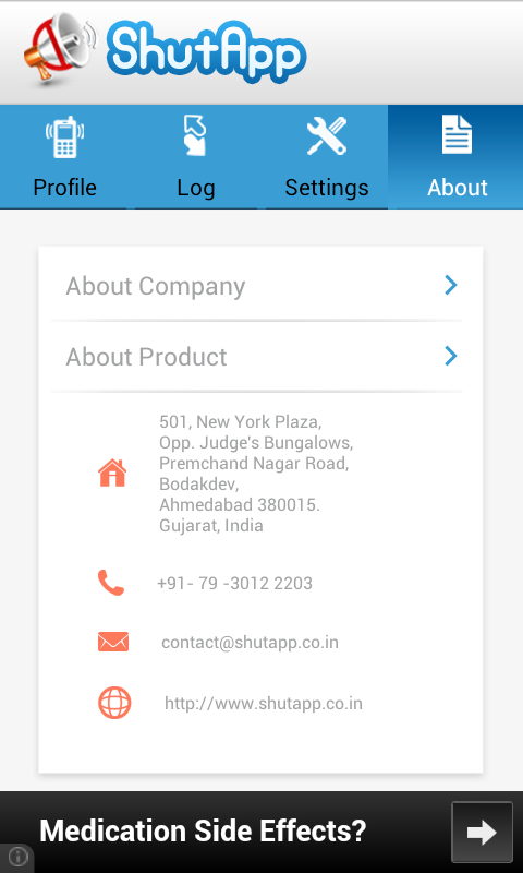 ShutApp- screenshot
