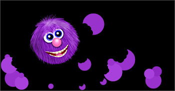 Yummy Purple Circles, Nibble, Nibble, Crunch!