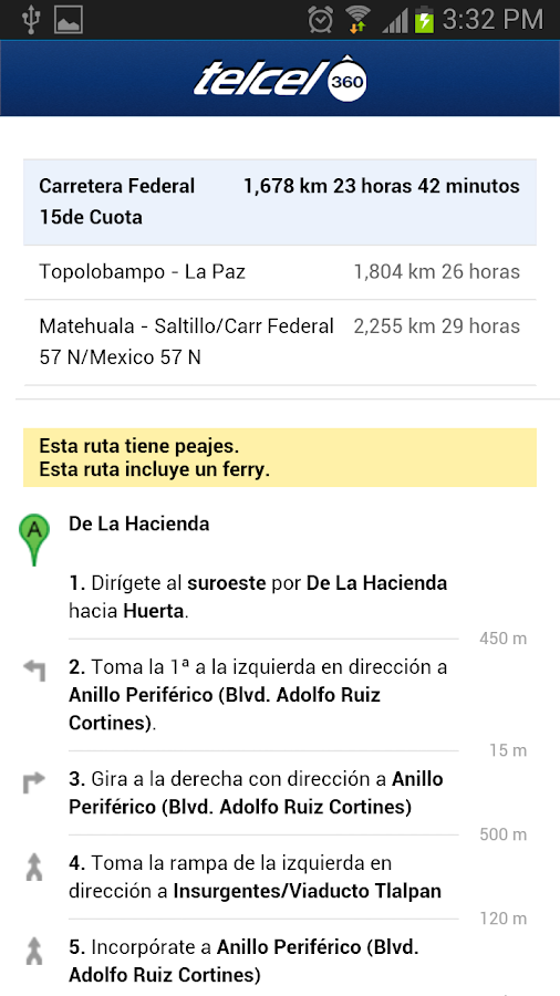 Telcel360- screenshot