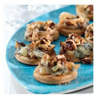 Savoury Stilton and Walnut Sables Recipe
