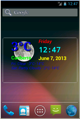 My Weather Widget