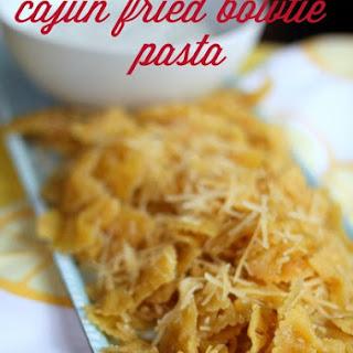 Cajun Fried Bowtie Pasta.