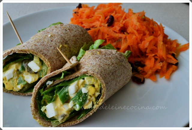 Egg Salad Burritos Recipe