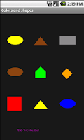 Screenshot of Learning games for kids