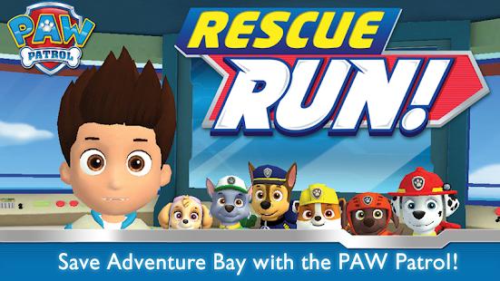 PAW Patrol Rescue Run HD