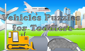 Screenshot of Vehicles Puzzles for Toddlers!