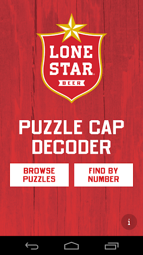 Lone Star Puzzle Caps Decoder