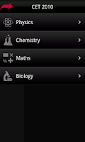 Screenshot of CET Mock Test from Career Edge