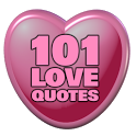 101 Love Quotes icon