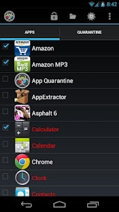 App Quarantine Pro ROOT/FREEZE v3.0 BETA 6