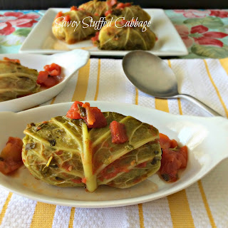 Stuffed Savoy Cabbage.