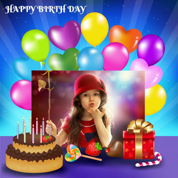 Animated Birthday Frames - screenshot