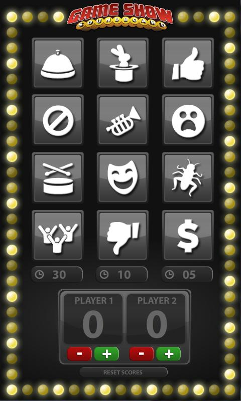 Game Show Soundboard- screenshot