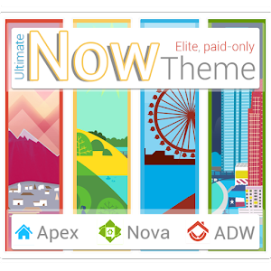 Ultimate Now Apex Nova Theme v2.0 APK