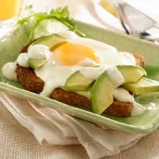 Avocado Breakfast Sandwiches.