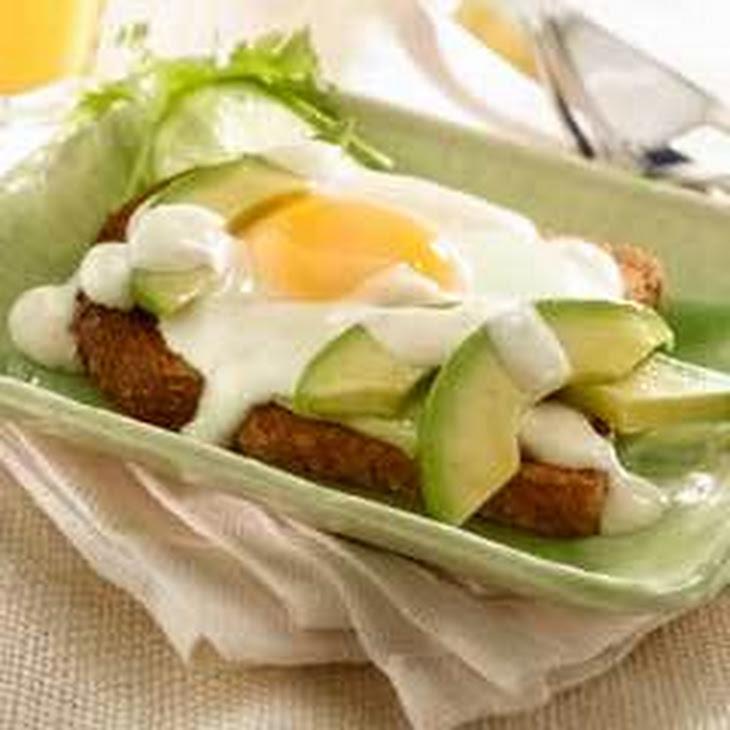 Avocado Breakfast Sandwiches Recipe