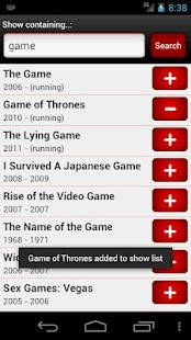 Series Seeker - screenshot thumbnail