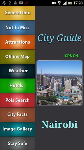 Nairobi Offline Travel Guide