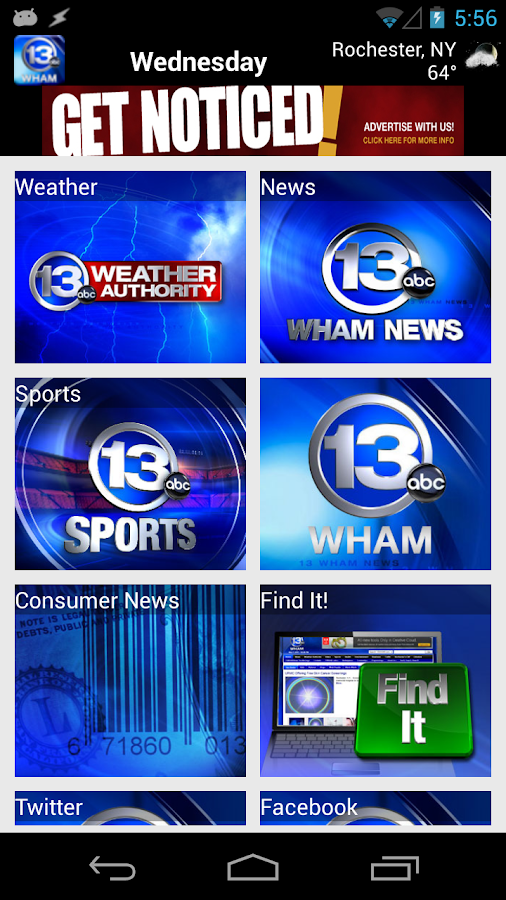 13 WHAM News - screenshot