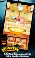 Screenshot of Monster Cake Pop Halloween