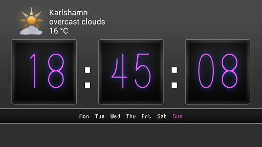 Digit Alarm Clock ad free