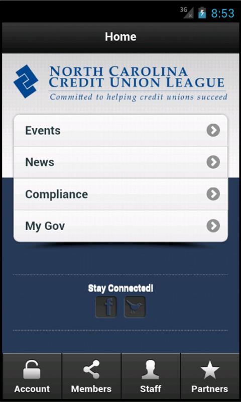 Mobile CMS App - screenshot