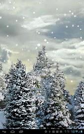 Snowfall Live Wallpaper Screenshot 1