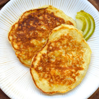 Rum and Pear Pancakes