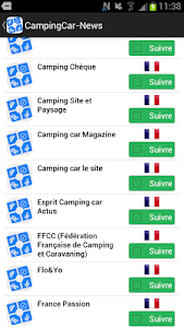 Campingcar-news - Camping-car screenshot 1
