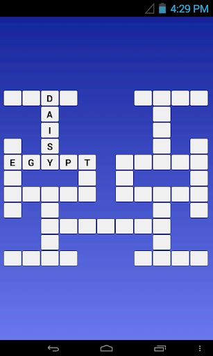 English - Farsi Crossword